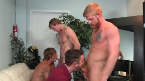 Swingers - Cameron Foster with Bennett Anthony butthole hammer