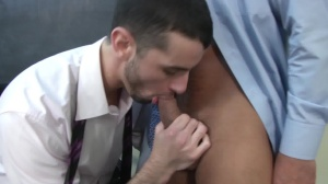 Car Jerk - Jake metallic and Dominic Pacifico butthole Hook up