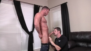 The Negotiator - Charlie Harding with Andrew Stark anal poke