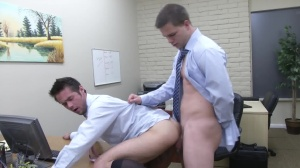 The Office hoe two - Mike De Marko and Jimmy Johnson ass fuck
