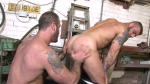 Late For Work - Spencer Reed with Alex Marte butt pound