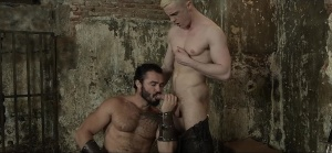 gay Of Thrones - Jessy Ares with JP Dubois butthole Hook up