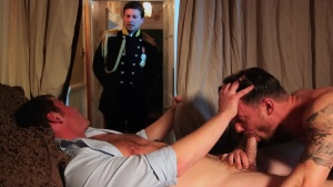 A Royal Fuckfest - Connor Maguire, Theo Reid ass Hook up
