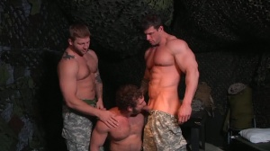 travel Of Duty - Zeb Atlas and Colby Jansen ass nail