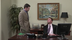 Married To The Boss - Andrew Stark and Jake Wilder anal slam