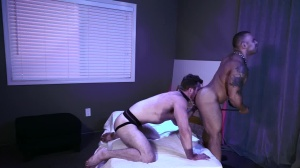 Pups - Lorenzo Flexx with Scott Ambrose bdsm Scene