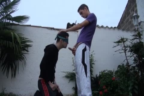 Max Lacoste slams Blindfold lad
