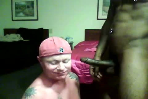 Me orally worshiping 9inch dark stud-face fuck-deepthroat
