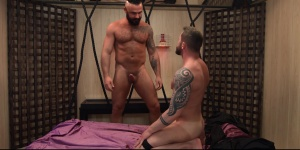 Art Of Domination - Jessy Ares with Tyler Berg pooper slam