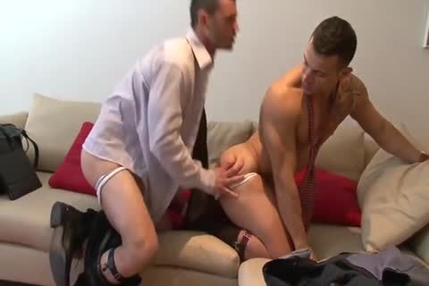 Spanish Hunks In Suits With large penises nail