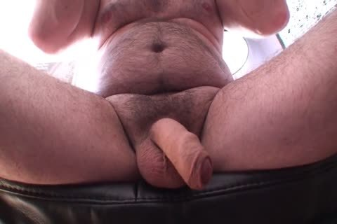 Playing Jerking And sperm Uncut Foreskin bushy ambisexual dad's