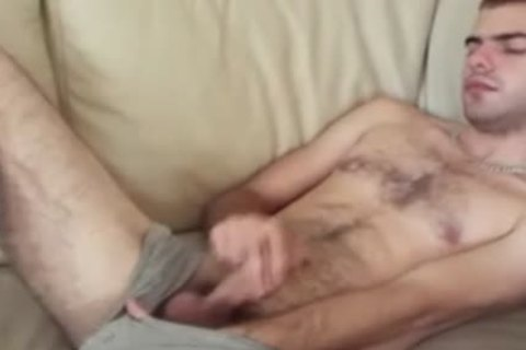 wanking And Sniffing In black Socks
