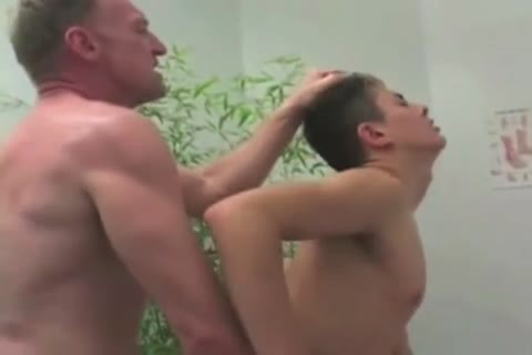 unsightly grand-dad And fine twink On A Ride