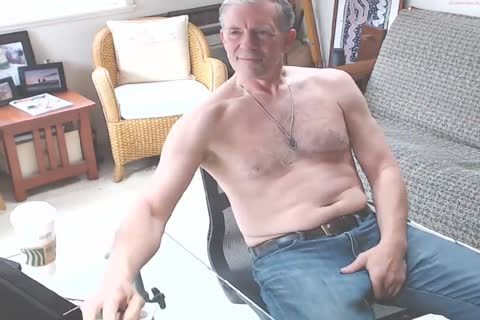 large Dicked dad wanking 002