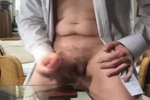 big Dicked daddy wanking 009