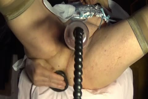 shemale tranny Sissy Pumping lingerie Nylon two