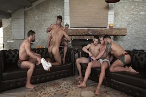 homosexual orgy raw bare