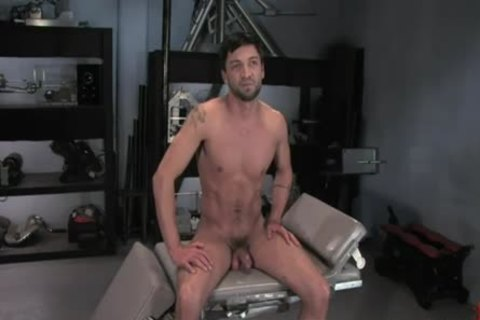 Dominic Pacifico In bondage And Getting fucked On A Machine