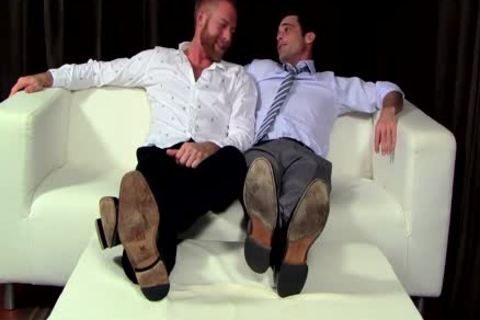 Chris acquires His Feet Worshipped By Lance