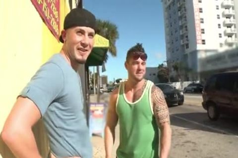 delicious Ronnie pounded In Public