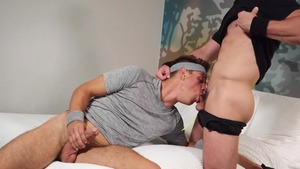 Balls To The Ball - Michael DelRay and Michael Boston ass Hump