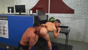 What's Up His ass - Jeremy Spreadums with Bruce Beckham American Hook up