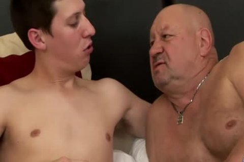 enormous Dicked twink bonks daddy fat grandpapa