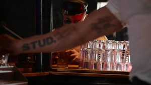 Tom Of Finland: Leather Bar Initiation - Dirk Caber & Kurtis Wolfe American Hump