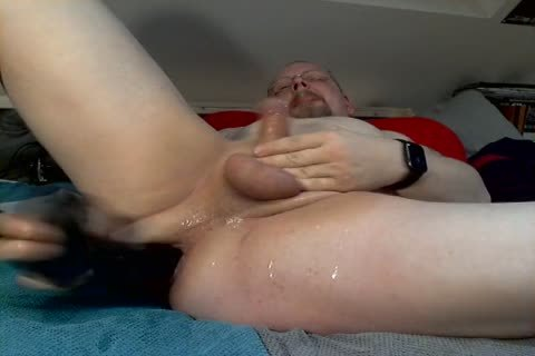 gay German Goatee Pig Olaf butthole fake penis And sperm