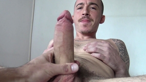 LatinLeche.com - Virgin hunk pounded by uncut dick guy