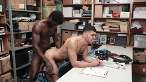 Young Perps - Latino Angel Duran stripteasing