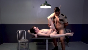 YoungPerps - Alex Meyer & Leo Silva cuff action in office