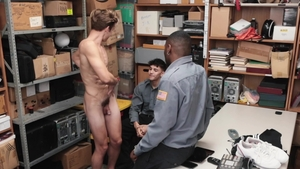 YoungPerps.com - Officer Alex Rim playing with Bar Addison