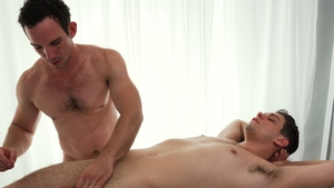 MissionaryBoys.com - Elder Ence next to Greg Mckeon stroking