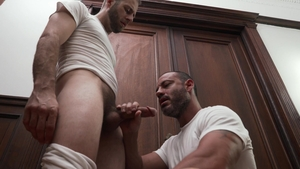 MissionaryBoys - Friend President Lewis lusts slamming hard