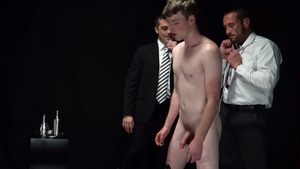 Missionary Boys: Freckled Elder Campbell nailed by balls stud