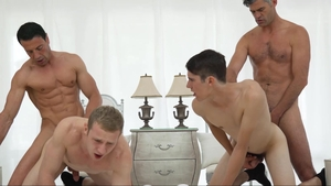 MissionaryBoys - Young Elder Holland penetration missionary