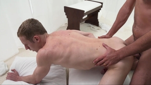 Missionary Boys: Thick Elder Holland stretching