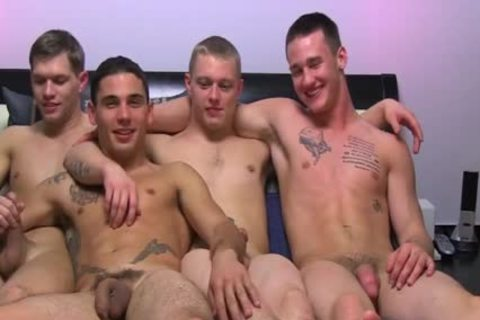 Straight boyz Try Out filthy gay Sex And spooge