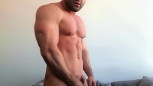 SeanCody.com: Black hair Reese masturbation sex tape
