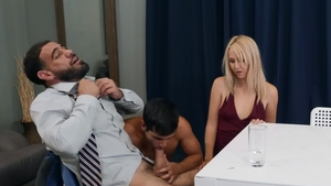 Men.com - Caucasian Aali Kali nailed by huge dick Ty Mitchell