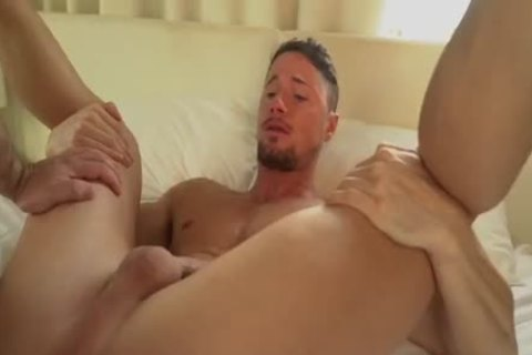 Muscle Alpha man's Wrecking A Bro's love tunnel