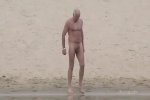 Spy older males And Grandpas Swimming in nature's garb