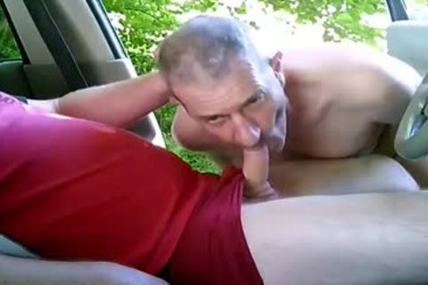 concupiscent homosexual boyz On Car Have Some Public And Outdoor Sex