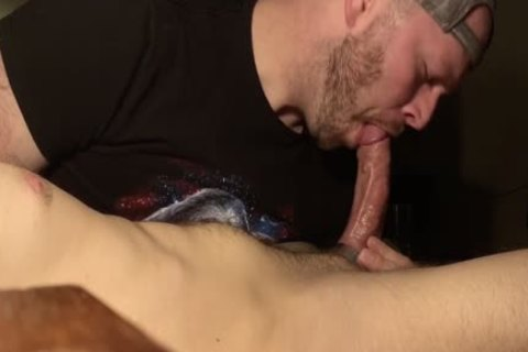 After My Buddy Uses My face hole, he Lets Me gulp his sperm