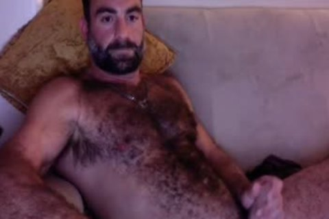 Sunday undressed Up Dilf Smoking On couch