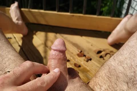 small penis Pissing On Myself Outside In Slow Motion