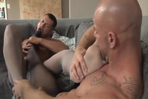guys In nylons Toe suck, Foot plow, And ramrod suck
