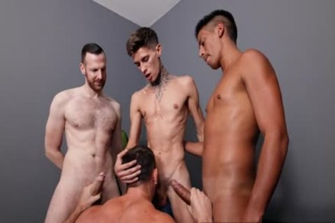 juicy Foursome, oral-service stimulation, juicy banging, Double ass Penetration
