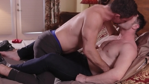 IconMale: Brown hair Jesse Zeppelin cheating sucking dick